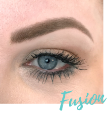 fusion eyebrows