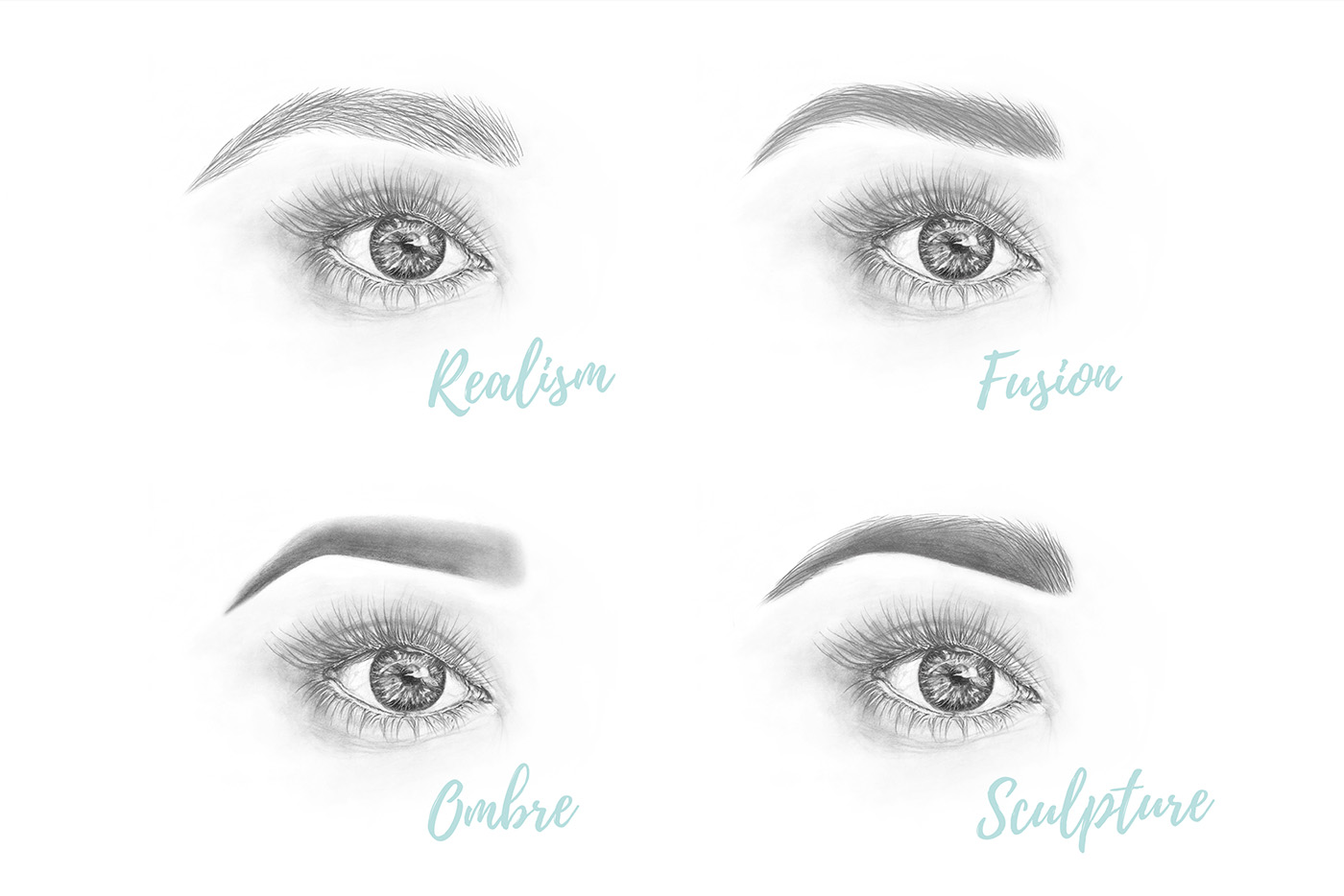 4 Looks you can create with a Microblading tool