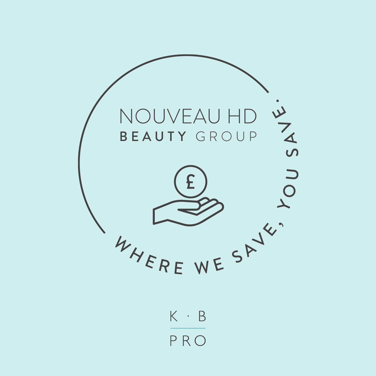 Where we save you save stamp Nouveau HD Beauty Group