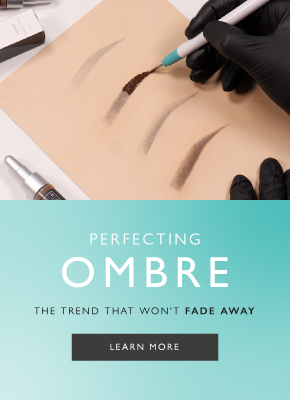 Perfecting Ombre Brows